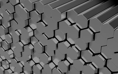 Stainless steel hexagon bars in Faridabad