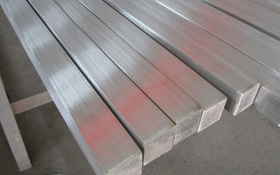 Stainless steel square bars in Faridabad